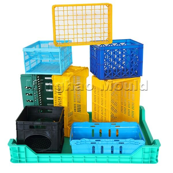 Injection Turn Over Box Mould
